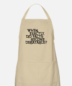 Facts are not Debatable Apron