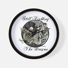 Dragon and TIger Wall Clock