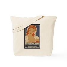 Cute Breastfeeding nursing Tote Bag