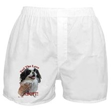 Adopt with Japanese Chin Boxer Shorts