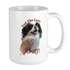 Adopt with Japanese Chin Mug