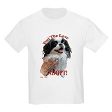 Adopt with Japanese Chin T-Shirt