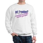 Got Freedom? U.S. Coast Guard Sweatshirt