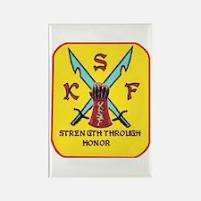 Cute Ksfcn Rectangle Magnet