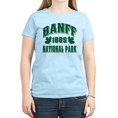 Banff National Park Green T-Shirt