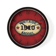 Birthday Vintage Model Year Wall Clock