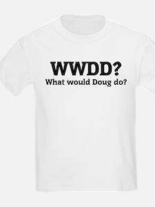 What would Doug do? Kids T-Shirt