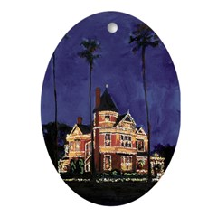 Holiday Lights Ornament (Oval)