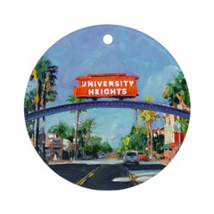 University Heights Ornament (Round)