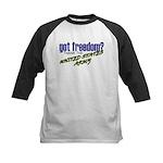 Got Freedom? US Army Kids Baseball Jersey