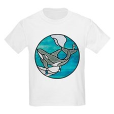 Stained Glass Design T-Shirt