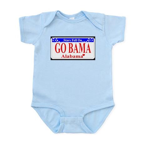 Go Bama! Infant Bodysuit