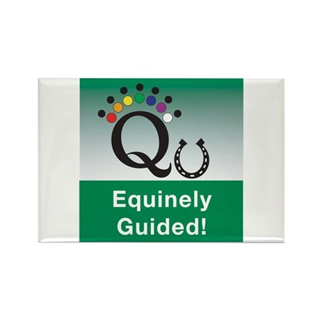 Equinely Guided! Rectangle Magnet