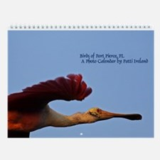 Exotic Birds Of Fort Pierce Florida Wall Calendar