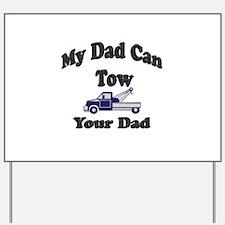 Cute Tow truck Yard Sign