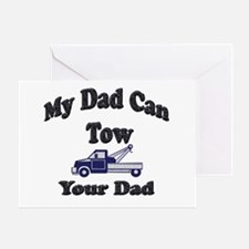 Funny Tow truck Greeting Card