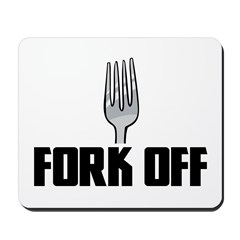 Fork Off Mousepad