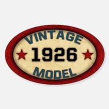 Birthday Vintage Model Year Decal