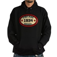 Birthday Vintage Model Year Hoodie