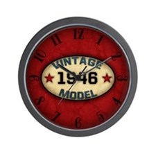 Birthday Vintage Model Year Wall Clock