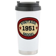 Birthday Vintage Model Year Travel Mug
