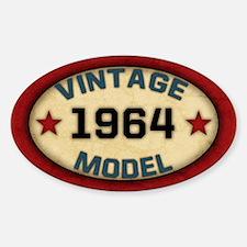 Birthday Vintage Model Year Bumper Stickers