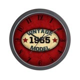 1965 vintage birthday Wall Clocks