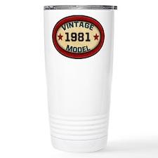 Birthday Vintage Model Year Travel Mug