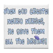 Neuro Nurse Tile Coaster