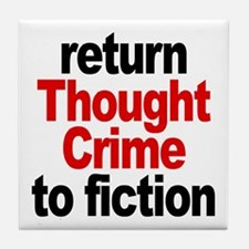 Thought Crime Tile Coaster