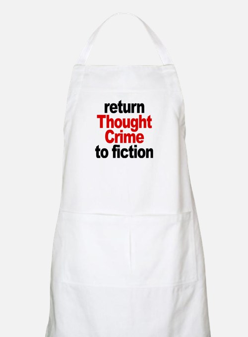 Thought Crime BBQ Apron