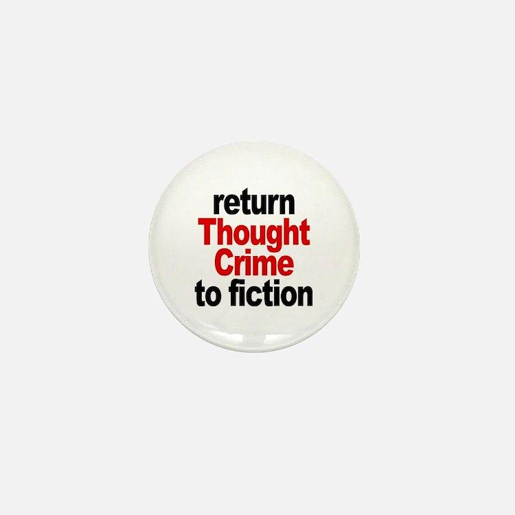Thought Crime Mini Button