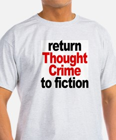 Thought Crime Ash Grey T-Shirt
