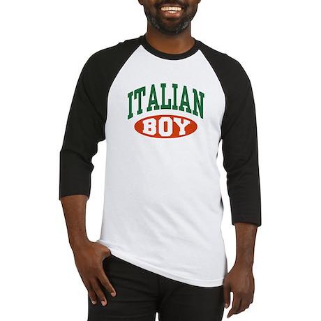 Italian Boy Baseball Jersey