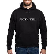 NCC-1701 (white) Hoodie