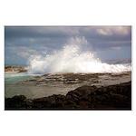 Ocean Wave Large Poster