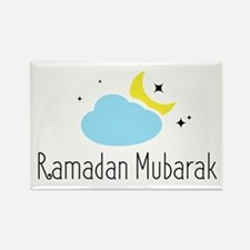 Cute Mubarak Rectangle Magnet