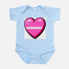 Weimaraner Lover Infant Bodysuit