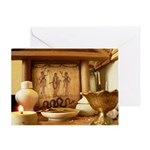 Lararium Greeting Card