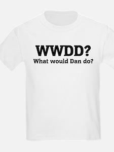 What would Dan do? Kids T-Shirt