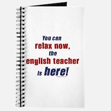 Relax, English teacher here Journal