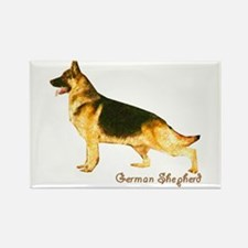 German Shepherd Rectangle Magnet (10 pack)