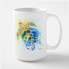 More Sea Turtles Large Mug