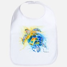 More Sea Turtles Bib