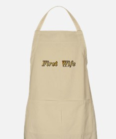 First wife snarky Apron