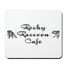 Rocky Raccoon Mousepad