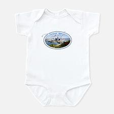 Pittsburgh Postcard Infant Bodysuit