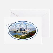 Pittsburgh Postcard Greeting Card