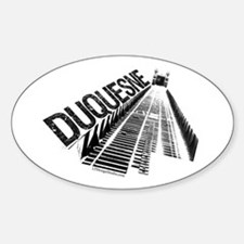 Duquesne Incline Sticker (Oval)
