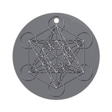 Metatrons Cube Ornament (Round)